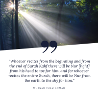 The Blessings of Surah Al-Kahf