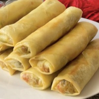 Desi Vegetable Spring Rolls