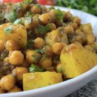 Potato Chickpea Curry/Aloo Chana